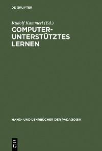 Cover Computerunterstütztes Lernen