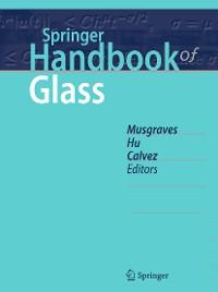 Cover Springer Handbook of Glass