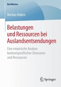 Cover Belastungen und Ressourcen bei Auslandsentsendungen