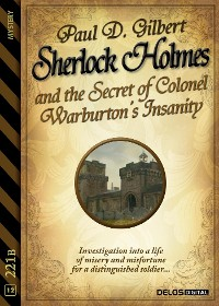 Cover Sherlock Holmes and the Secret of Colonel Warburton's Insanity