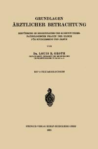 Cover Grundlagen Arztlicher Betrachtung