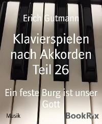 Cover Klavierspielen nach Akkorden Teil 26