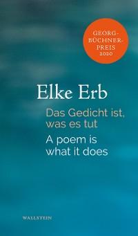 Cover Das Gedicht ist, was es tut