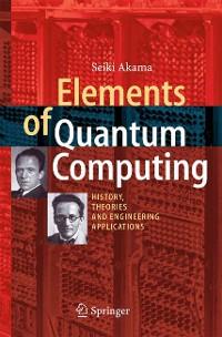 Cover Elements of Quantum Computing
