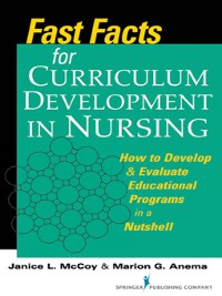 Cover Fast Facts for Curriculum Development in Nursing