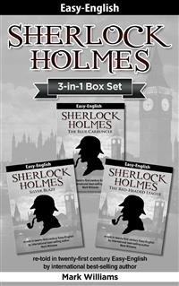 Cover Sherlock Holmes Easy-English 3-in-1 Box Set