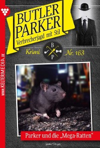 Cover Butler Parker 163 – Kriminalroman