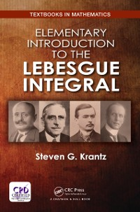 Cover Elementary Introduction to the Lebesgue Integral