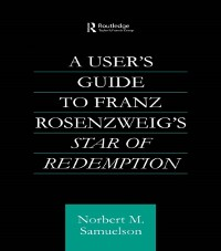 Cover User's Guide to Franz Rosenzweig's Star of Redemption