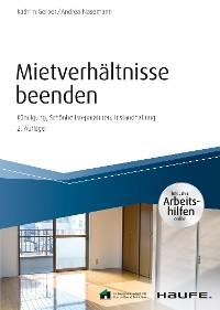 Cover Mietverhältnisse beenden - inkl. Arbeitshilfen online