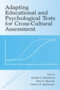 Cover Adapting Educational and Psychological Tests for Cross-Cultural Assessment