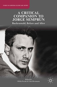 Cover A Critical Companion to Jorge Semprún