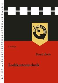Cover Lochkartentechnik