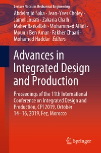 Cover Advances in Integrated Design and Production