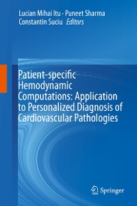 Cover Patient-specific Hemodynamic Computations: Application to Personalized Diagnosis of Cardiovascular Pathologies