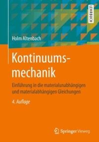 Cover Kontinuumsmechanik