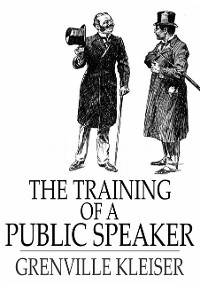 Cover Training of a Public Speaker