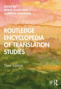 Cover Routledge Encyclopedia of Translation Studies