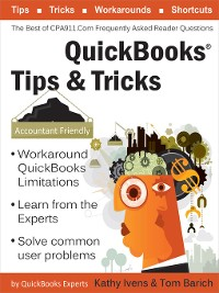 Cover QuickBooks Tips & Tricks:  the Best of CPA911.Com