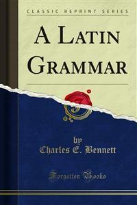 Cover A Latin Grammar