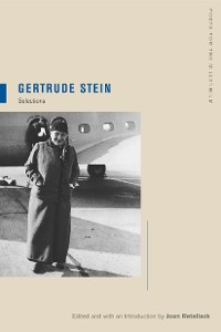 Cover Gertrude Stein
