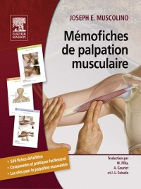 Cover Memofiches de palpation musculaire