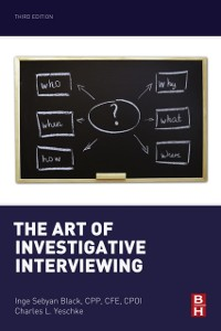 Cover Art of Investigative Interviewing