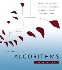 Cover Introduction to Algorithms