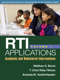 Cover RTI Applications, Volume 1