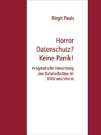 Cover Horror Datenschutz? Keine Panik!