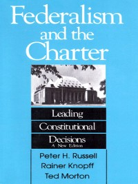 Cover Federalism and the Charter