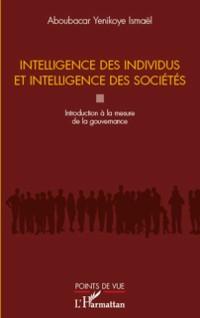 Cover Intelligence des individus et intelligence des societes