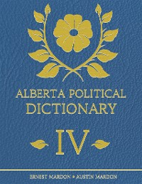 Cover Alberta Political Dictionary I V