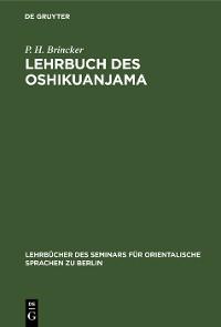 Cover Lehrbuch des Oshikuanjama