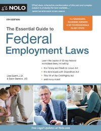 Cover Essential Guide to Federal Employment Laws