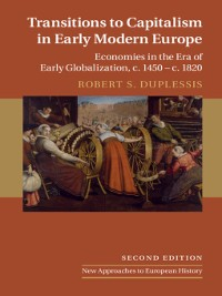 Cover Transitions to Capitalism in Early Modern Europe