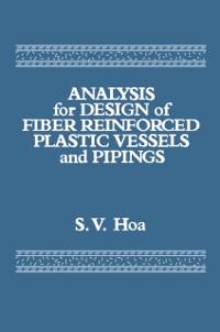 Cover Analysis for Design of Fiber Reinforced Plastic Vessels