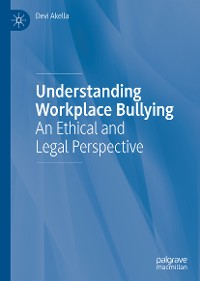 Cover Understanding Workplace Bullying