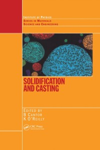 Cover Solidification and Casting: