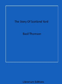 Cover The Story Of Scotland Yard