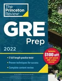Cover Princeton Review GRE Prep, 2022