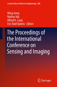 Cover The Proceedings of the International Conference on Sensing and Imaging