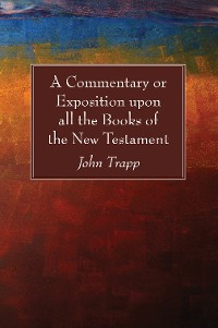 Cover A Commentary or Exposition upon all the Books of the New Testament