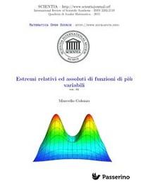 Cover Estremi relativi ed assoluti di funzioni di più variabili