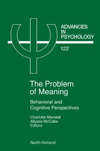Cover Problem of Meaning Behavioural and Cognitive Perspectives