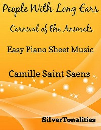 Cover People With Long Ears Carnival of the Animals Easy Piano Sheet Music
