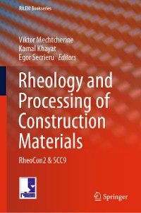 Cover Rheology and Processing of Construction Materials