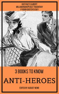 Cover 3 books to know Anti-heroes