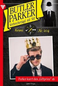 Cover Butler Parker 205 – Kriminalroman