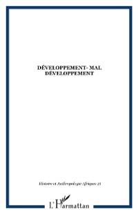 Cover DEVELOPPEMENT- MAL DEVELOPPEMENT